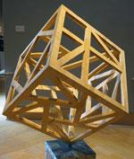 Sculpture by student Eryn Blagg