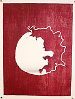 A print by student Rachael Wuensch