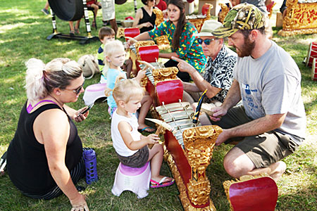 Mile of Music gamelan workshop
