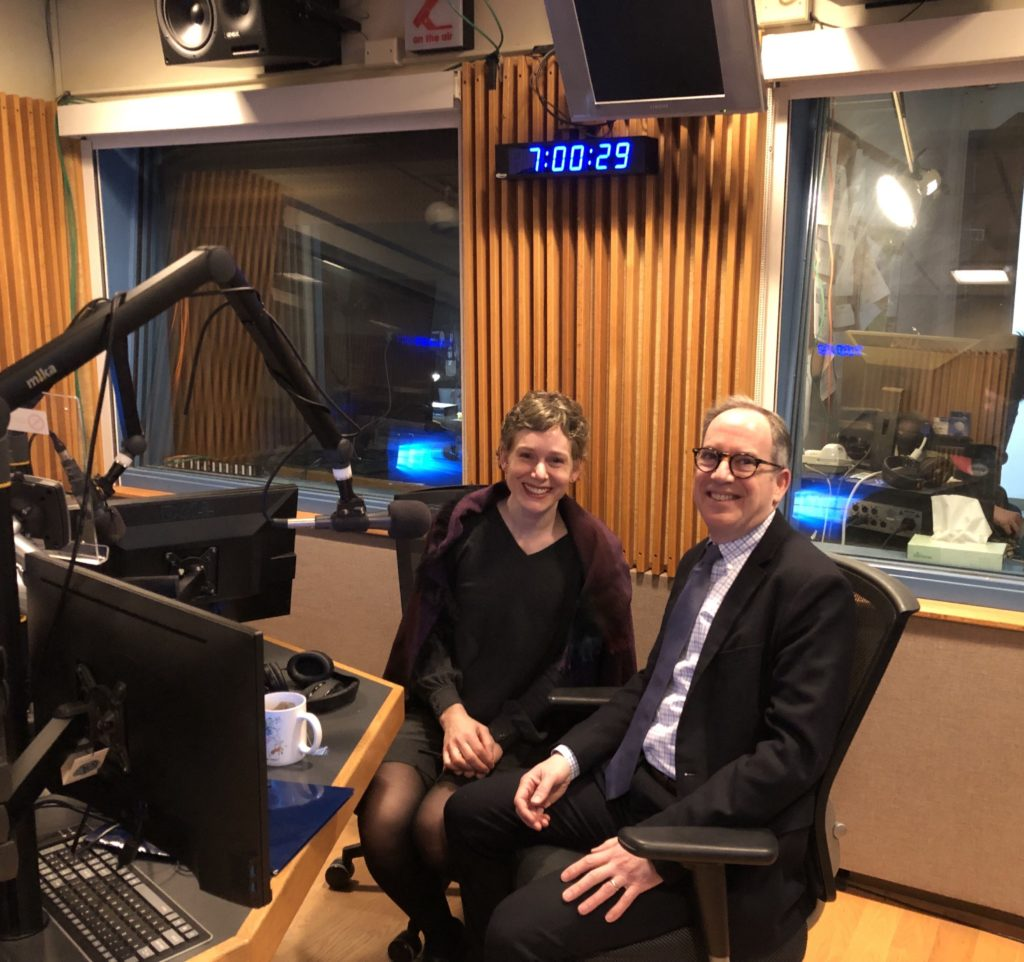 "Lawrence University President Mark Burstein joins host Kate Archer Kent Thursday morning on Wisconsin Public Radio's ""The Morning Show."""