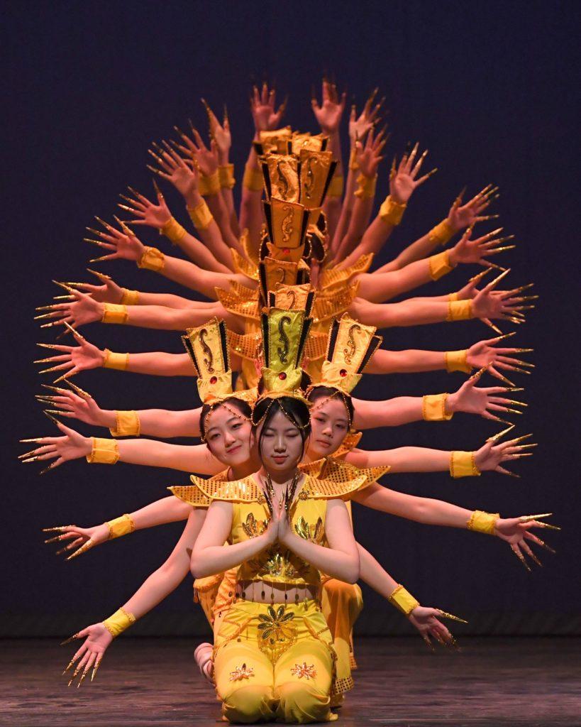 A performance of Thousand-hand Guan Yin at 2018 Cabaret.