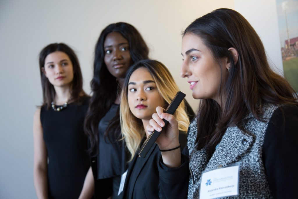 Lawrence students participate in The Pitch in 2018.