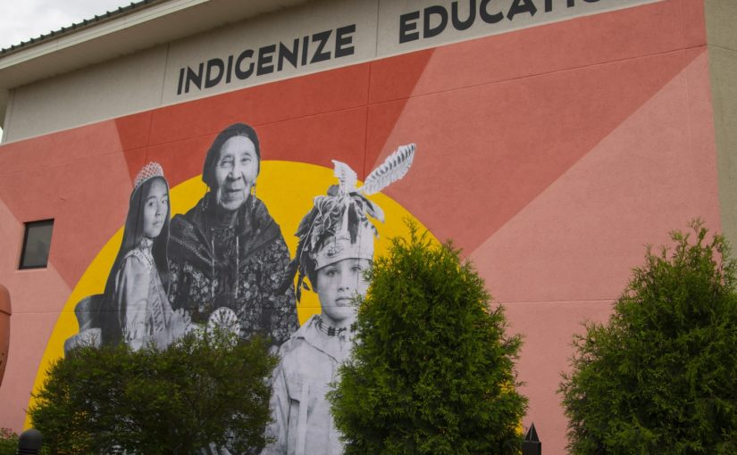 Project 562 mural returns to exterior wall of Wellness Center