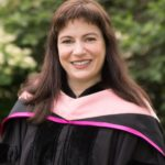Portrait of Erin Lesser at Commencement.