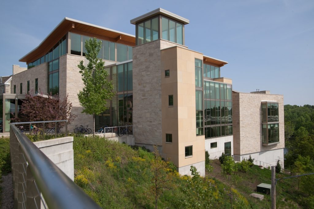 Photo of Warch Campus Center.