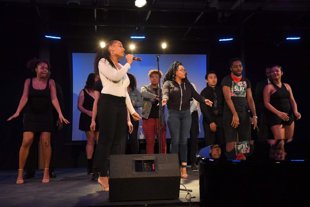 Students perform on stage during last year's Cultural Expressions.